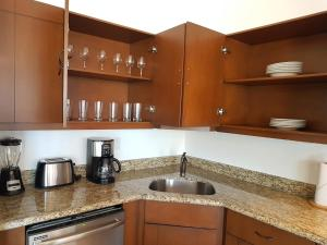 A kitchen or kitchenette at The Residences at La Vista