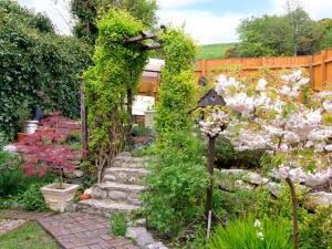 A garden outside Snooks Cottage