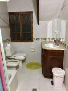 Un baño de Nuestra Casa en Tarija