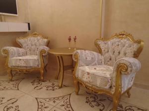 A seating area at Apartment Bourgeois