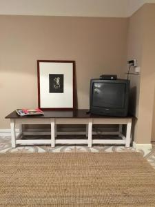 A television and/or entertainment center at Josephine's place