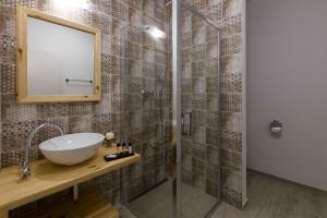 Kúpeľňa v ubytovaní Rezort Gothal Apartmány
