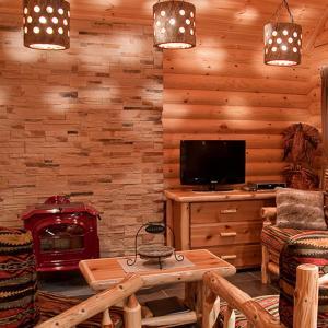 Een TV en/of entertainmentcenter bij Metso