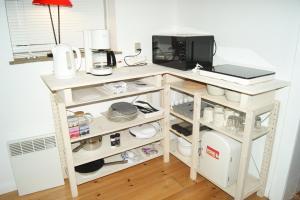 A kitchen or kitchenette at Glentevej 3