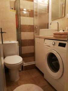 A bathroom at Imperia Apartments