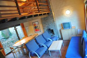 A seating area at Domaine Du Bonsoy