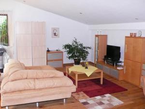 TV/Unterhaltungsangebot in der Unterkunft Apartment Waldeiche-Rheinblick