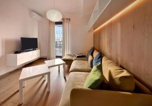 A seating area at Charming&Cozy-Ambiente Apartments