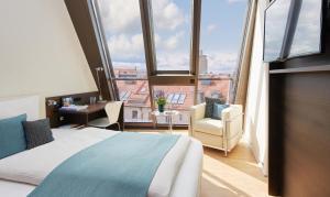living hotel das viktualienmarkt deutschland m nchen. Black Bedroom Furniture Sets. Home Design Ideas