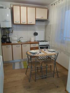 A kitchen or kitchenette at TGM Apartment 1