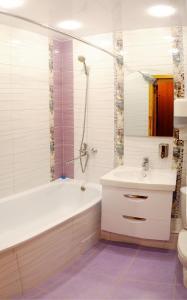 Ванная комната в Апартаменты на Чапаева 13