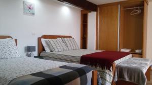 Krevet ili kreveti u jedinici u objektu Quinta da Tapada do Pontão