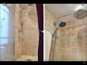 Salle de bains dans l'établissement Cosy apartment Marais Rosiers