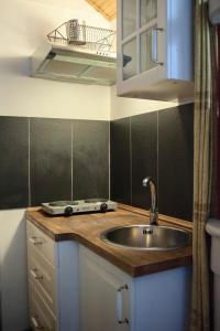 Cucina o angolo cottura di Apartment Carezza