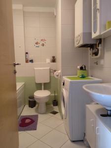 Kupaonica u objektu A romantic getaway in Varaždin
