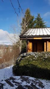 Loch Insh Chalets Ltd during the winter