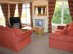 A seating area at Park Lodge