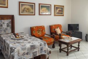 A seating area at Casa Giuseppina