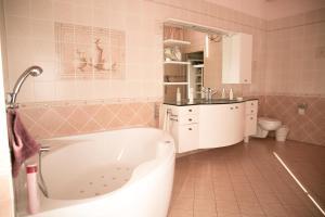 A bathroom at Casa Luna