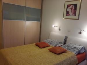 Postelja oz. postelje v sobi nastanitve LUX App Centre south