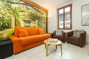 A seating area at Apartment La Maisonnee
