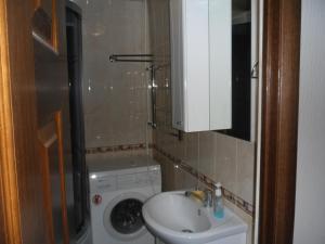 Ванная комната в Апартаменты на Жуковского,29А