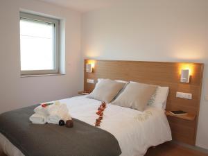Cama o camas de una habitación en Mendialdea Amaiur Baztán