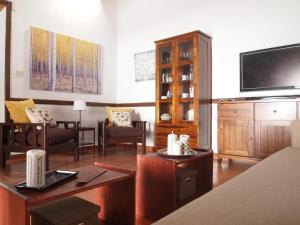 A television and/or entertainment center at Casa Conchita