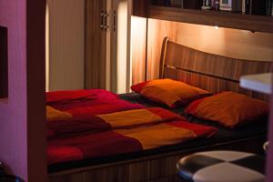 Krevet ili kreveti u jedinici u okviru objekta Peaceful Apartment