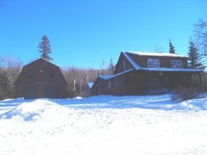 Kennebago Camp Rental Cabin during the winter