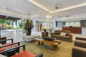 The lobby or reception area at Sea Temple Palm Cove 2 Bedroom Luxury Apartment