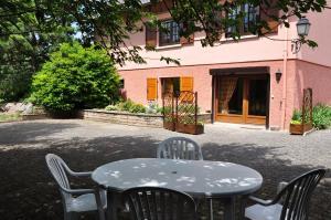 Terrasse ou espace extérieur de l'établissement studio Fleurette