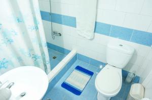 A bathroom at Apartamento San Juan