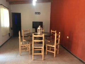 홀리데이 홈 식사 공간