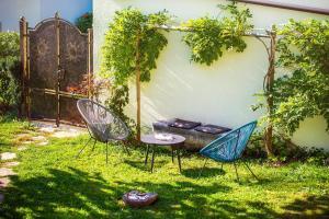 A garden outside Zenja