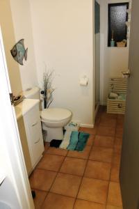 A bathroom at 17 waiake