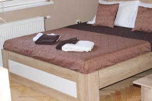 Krevet ili kreveti u jedinici u okviru objekta Apartment Cherry
