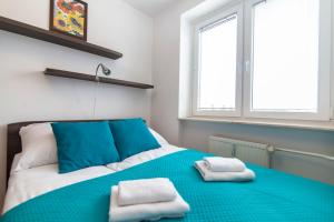 A bed or beds in a room at Apartment Royal VI