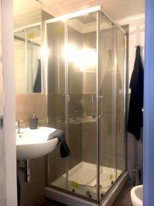 Bagno di New spacious flat Fuorigrotta near to METRO
