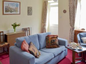 A seating area at Cornthwaite Cottage
