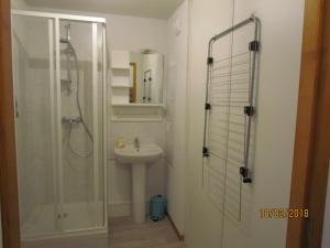 A bathroom at Appartement 4/6 pers