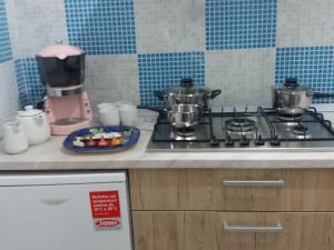 Cucina o angolo cottura di Casa rosa Andrea barbera