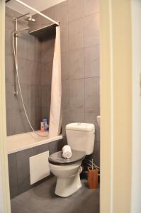 A bathroom at 1 Bedroom Flat In Central Marais