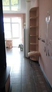 A seating area at Apartment Nagorny