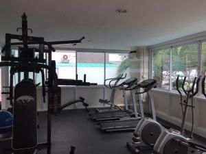 The fitness center and/or fitness facilities at The Beach Condo Bangsaen 329/45