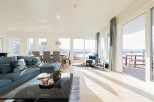 Wright Apartments - Sørenga tesisinde bir oturma alanı