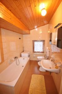 Vannas istaba naktsmītnē Casa Erica