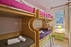 Lliteres en una habitació de Apartarent 1500