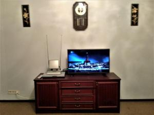 A television and/or entertainment centre at Irina Apartment