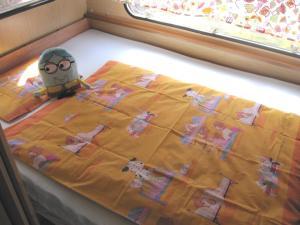 Säng eller sängar i ett rum på Smalandsstuga